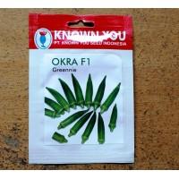 Okra Hijau - Okra F1 Greennie 25s