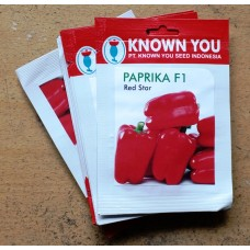 Paprika Merah - Paprika F1 Red Star 25s