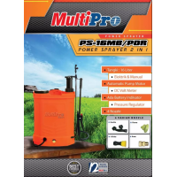 Alat Semprot Manual+Electric Sprayer 2 In 1 Multipro 16 ltr