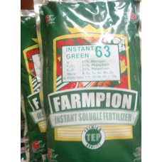 Pupuk Farmpion Instant Green 63 NPK Seimbang 21-21-21 500gr